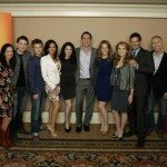 LIZZY WEISS (CREATOR/EXECUTIVE PRODUCER), SEAN BERDY, LUCAS GRABEEL, CONSTANCE MARIE, VANESSA MARANO, MICHAEL RILEY (PRESIDENT, ABC FAMILY), KATIE LECLERC, LEA THOMPSON, D.W. MOFFETT, PAUL STUPIN (EXECUTIVE PRODUCER)