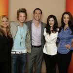 APRIL BLAIR (EXECUTIVE PROCUCER), NICHOLAS ROUX, MICHAEL RILEY (PRESIDENT, ABC FAMILY), ERICA DASHER, ANDIE MACDOWELL