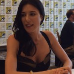 Jaime Murray - Defiance Press Room SDCC 2014