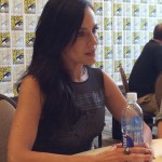 Julie Benz - Defiance Press Room SDCC 2014