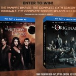 Giveaway: Win THE VAMPIRE DIARIES Season 6 or THE ORIGINALS Season 2 on Blu-ray or DVD