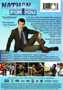DVD Review: NATHAN FOR YOU Seasons One & Two - NoReruns net