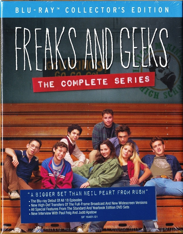 Review Freaks And Geeks The Complete Series Blu Ray Collectors