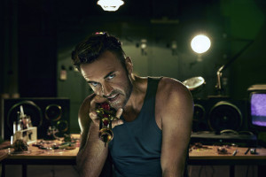 HUNTERS -- Season:1 -- Pictured: Julian McMahon as Lionel McCarthy -- (Photo by: Peter Brew-Bevan/Syfy)