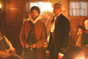 MAKING HISTORY: L-R:  Adam Pally and Yassir Lester in MAKING HISTORY coming soon to FOX.  ©2016 Fox Broadcasting Co.  Cr:  Qantrell Colbert/FOX