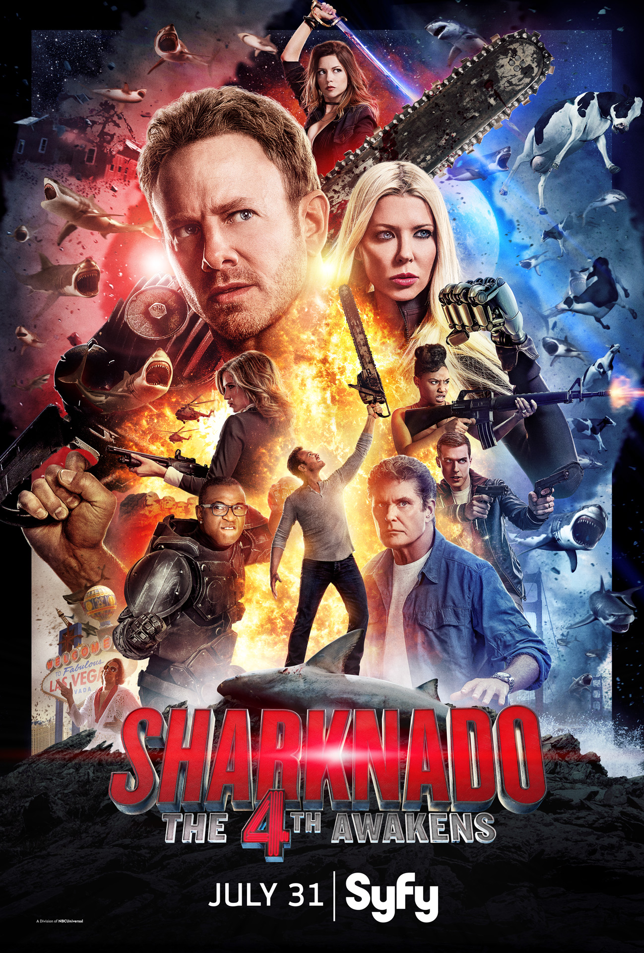 Syfy Reveals Whether April Will Live On In SHARKNADO: THE 4TH