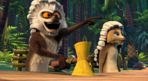 After King Julien is locked out of his own kingdom, the lemurs take matters into their own hands in Season 3 of All Hail King Julien, premiering on Netflix June 17.