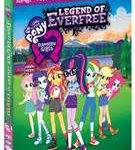 MY LITTLE PONY EQUESTRIA GIRLS – LEGEND OF EVERFREE on Blu-ray & DVD November 1