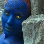 Mystique (Jennifer Lawrence) pauses during an epic, earth-shattering battle with Apocalypse. Photo Credit: Courtesy Twentieth Century Fox.