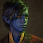Kodi Smit-McPhee as Kurt Wagner / Nightcrawler in X-MEN: APOCALYSPE. Photo Credit: Alan Markfield.