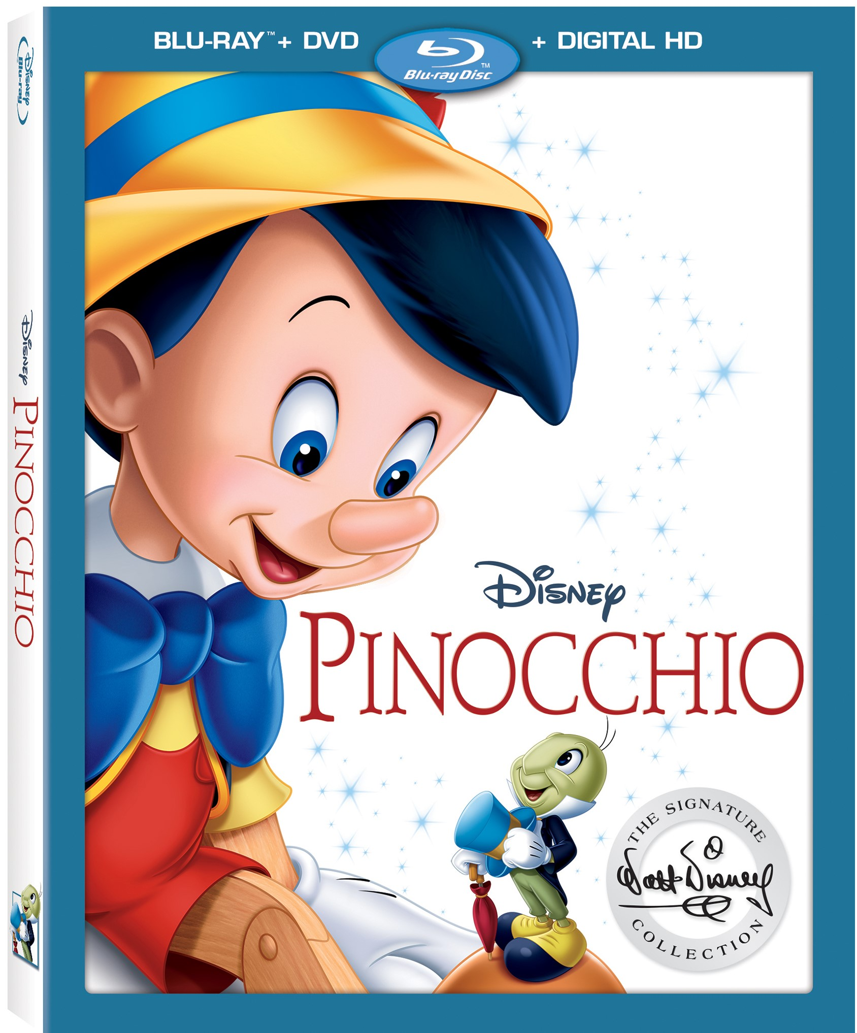 Disney's PINOCCHIO Signature Collection Arrives on Blu-ray January