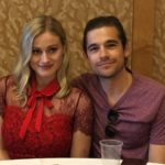 Olivia Taylor Dudley (Alice) & Jason Ralph (Quentin) - The Magicians SDCC 2016