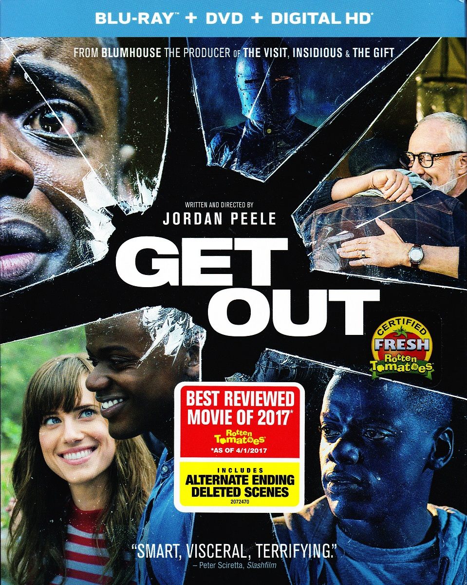 Blu-ray Review: GET OUT - NoReruns net