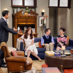 WILL & GRACE -- Season: 1 --  Pictured: (l-r) Eric McCormack as Will Truman, Debra Messing as Grace Adler, Sean Hayes as Jack McFarland, Megan Mullally as Karen Walker-- (Photo by: Chris Haston/NBC)