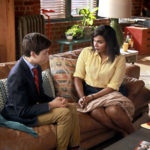 CHAMPIONS -- Pilot -- Pictured: (l-r) J.J. Totah as Michael, Mindy Kaling as Priya -- (Photo by: Jordin Althaus/NBC)