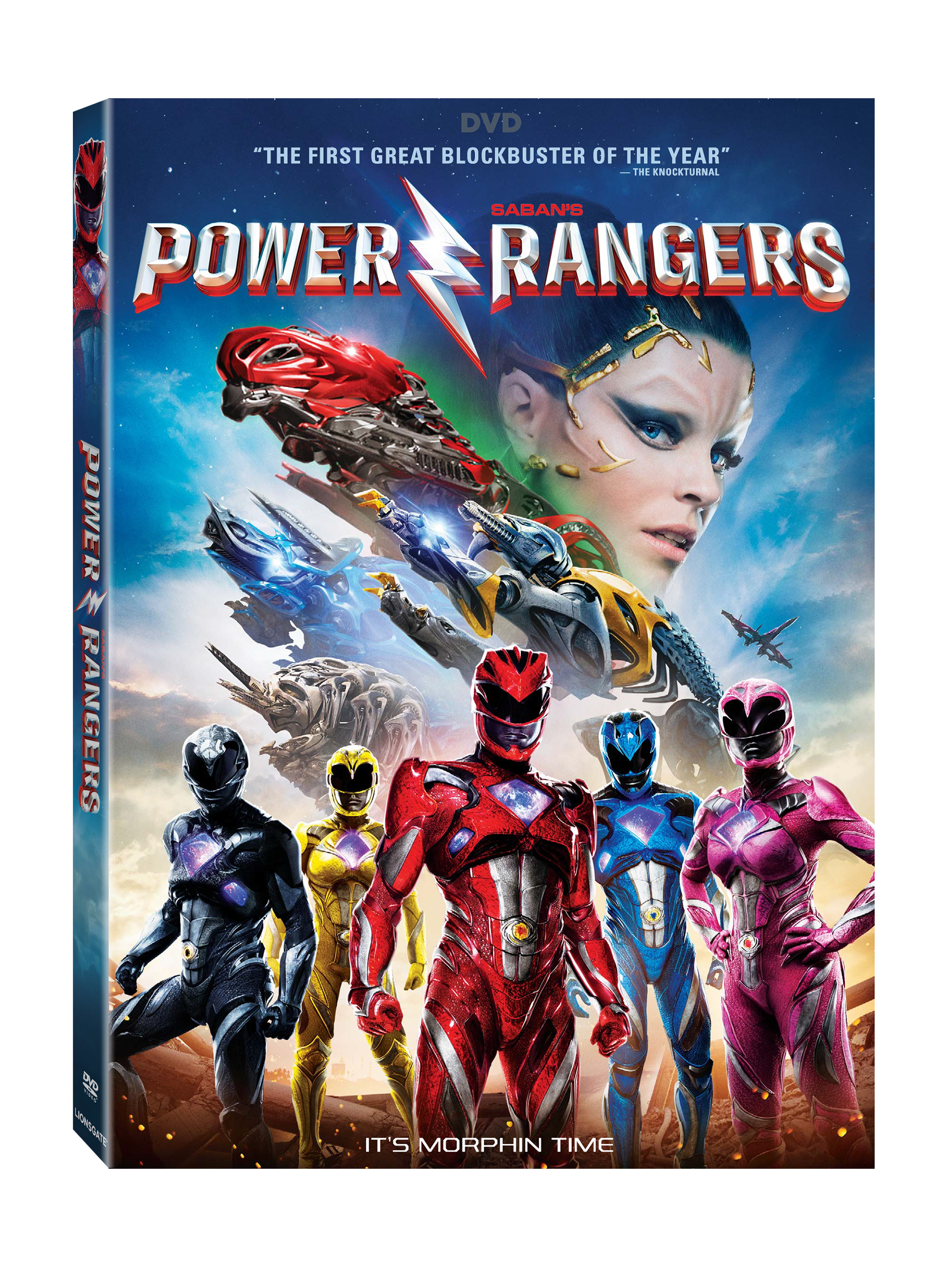 saban s power rangers arrives on 4k uhd blu ray dvd. Black Bedroom Furniture Sets. Home Design Ideas