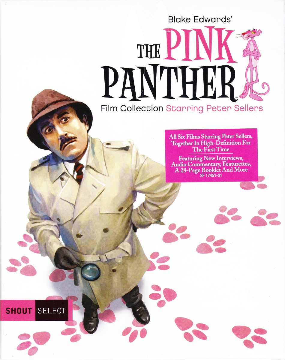 5a7f09bf915b Blu-ray Review: BLAKE EDWARDS' THE PINK PANTHER FILM COLLECTION ...