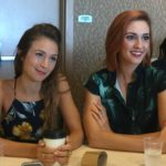 Wynonna Earp - Dominique Provost-Chalkley (Waverly Earp) & Katherine Barrell (Nicole Haught)