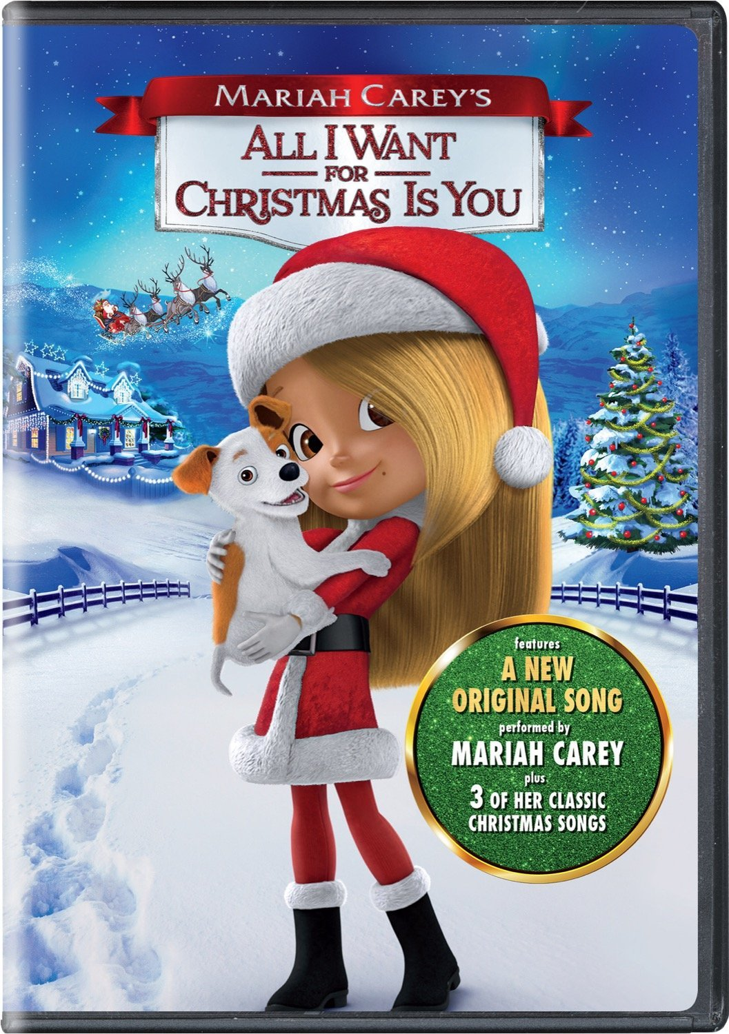 Mariah Carey\'s ALL I WANT FOR CHRISTMAS IS YOU Arrives on Blu-ray ...