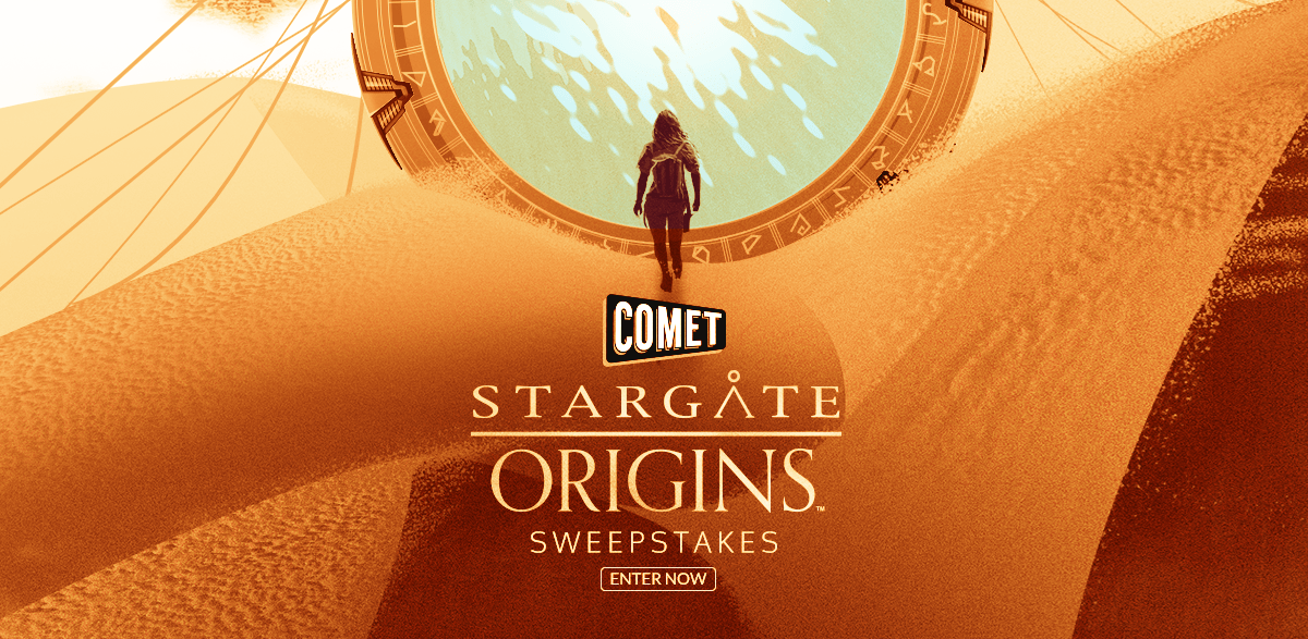 Comet TV STARGATE ORIGINS Sweepstakes - Win A Trip To Los