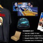 Giveaway: Win a COMET TV December Tank Girl Exclusive Swag And Cult Classic Goodness