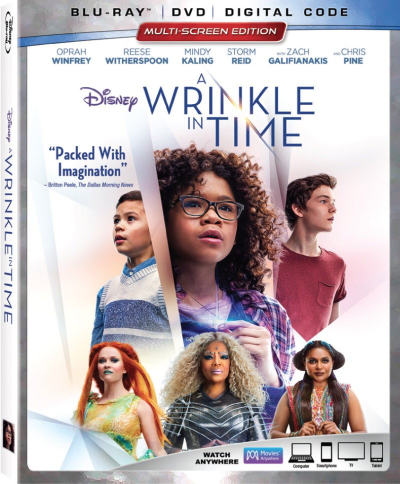 Disney's A WRINKLE IN TIME Arrives on Digital May 29, and on 4K