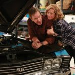 LAST MAN STANDING:  L-R: Tim Allen and Nancy Travis in LAST MAN STANDING premiering Fridays 8:00-8:30 PM ET/PT this fall on FOX.  ©2018 Fox Broadcasting Co.  Cr:  FOX