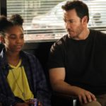 THE PASSAGE:  L-R:  Saniyya Sidney and Mark-Paul Gosselaar in THE PASSAGE premiering midseason on FOX.  ©2018 Fox Broadcasting Co.  Cr: Steve Dietl/FOX