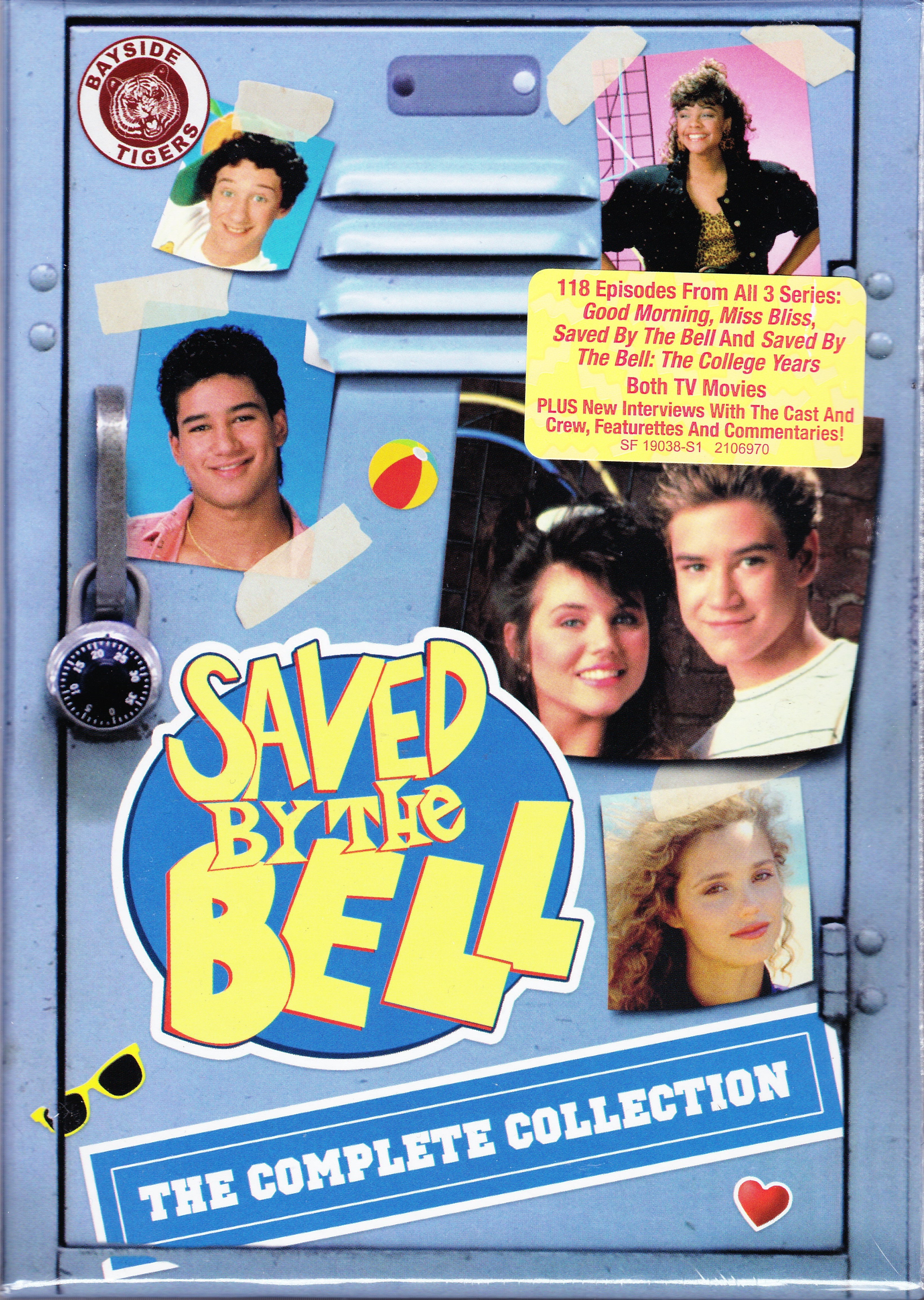 DVD Review: SAVED BY THE BELL: THE COMPLETE COLLECTION