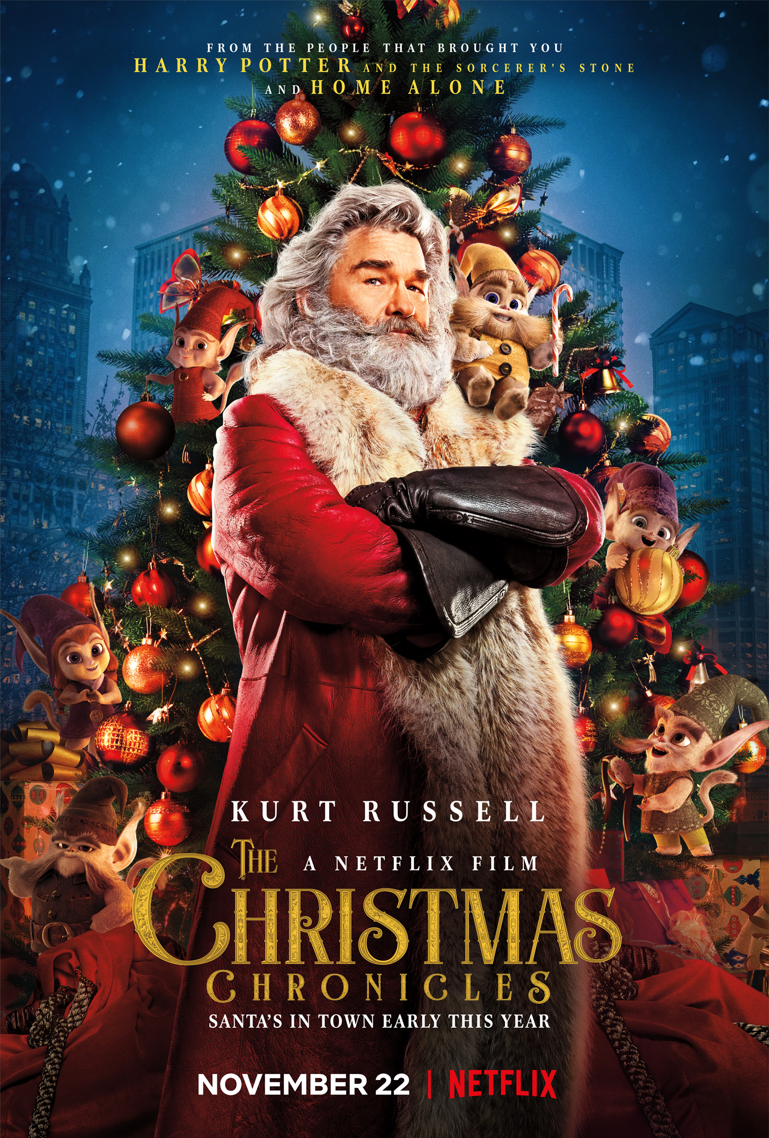 Holiday Film THE CHRISTMAS CHRONICLES Launches Globally on Netflix ...