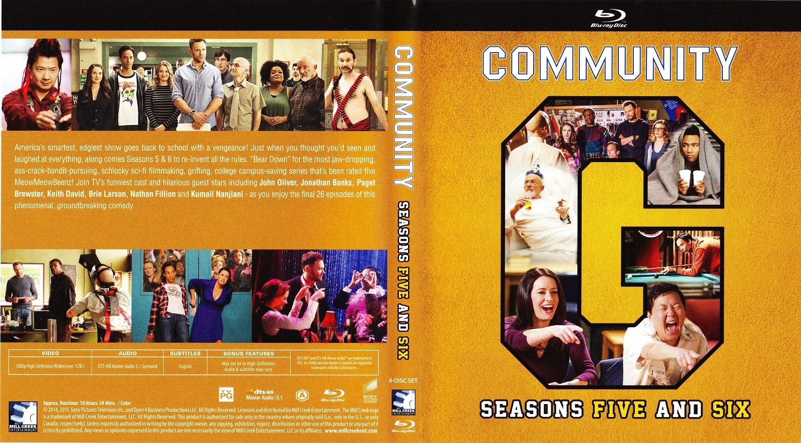 Blu Ray Review Community The Complete Series Noreruns Net