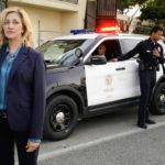 TOMMY-- When a former high-ranking NYPD officer becomes the first female Chief of Police for Los Angeles, she uses her unflinching honesty and hardball tactics to navigate social, political, and national security issues while enforcing the law, in the CBS series TOMMY, premiering later in the season on the CBS Television Network.   Pictured Edie Falco as Abigail 'Tommy' Thomas       Photo: Cliff Lipson/CBS ©2019 CBS Broadcasting, Inc. All Rights Reserved