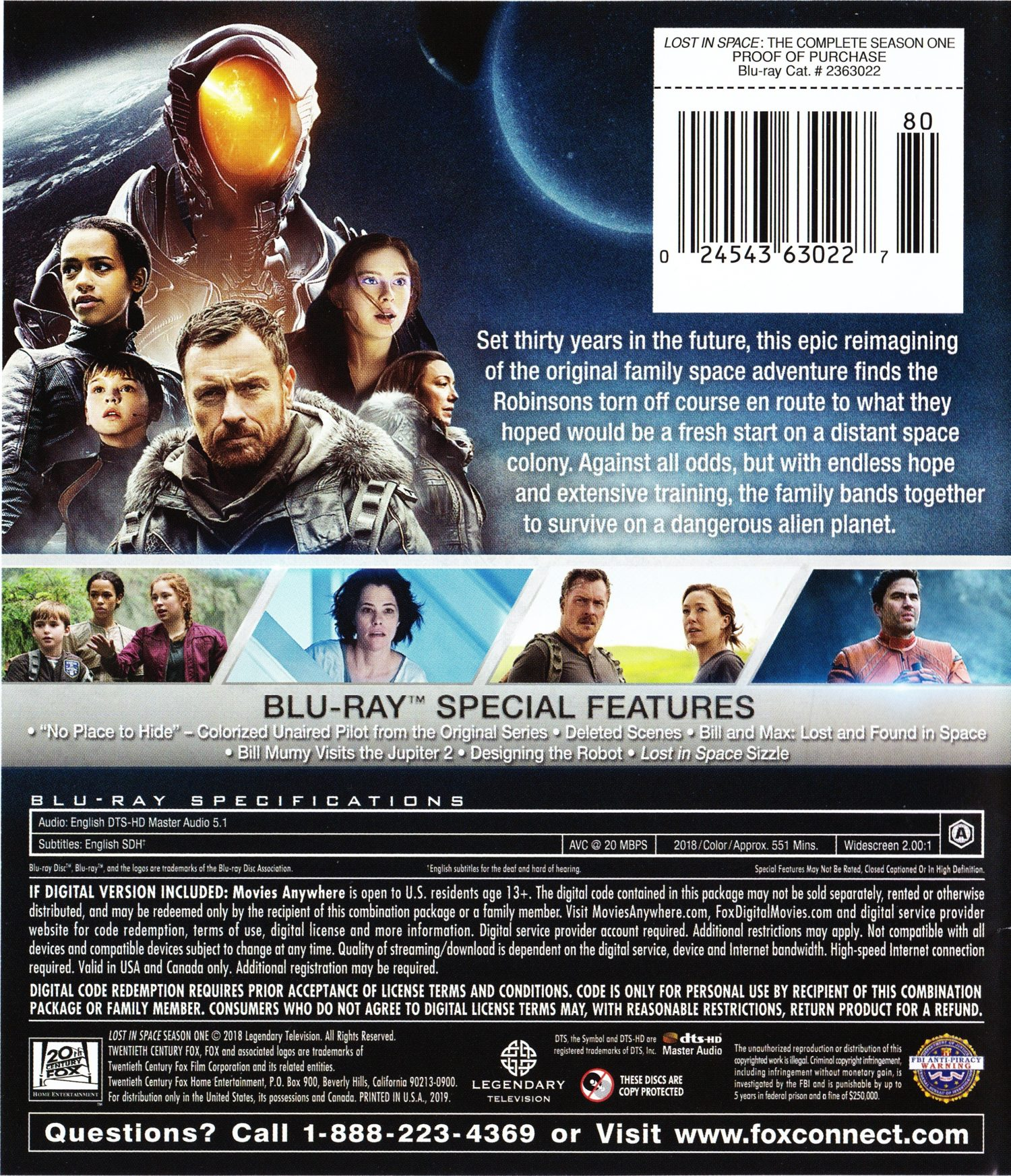 Blu-ray Review: LOST IN SPACE: THE COMPLETE FIRST SEASON