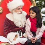 Nick (played by Gregg Sulkin) works as Santa, as he brings the magic of Christmas to the little girl visiting Santa Land.