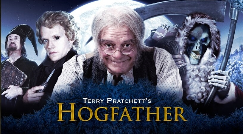 Blu Ray Review Terry Pratchett S The Color Of Magic Hogfather Double Feature Noreruns Net