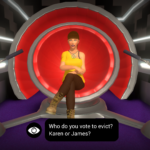 Big Brother The Game Screenshot_Diary Room Using the Veto