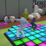 Big Brother The Game Screenshot_Housemates_Dancing_Chore