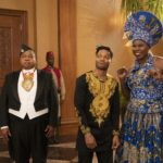Leslie Jones and Jermaine Fowler stars in COMING 2 AMERICA  Photo Courtesy of Amazon Studios