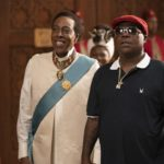 Arsenio Hall and Tracy Morgan star in COMING 2 AMERICA  Photo Courtesy of Amazon Studios