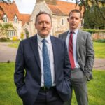 Neil Dudgeon as DCI John Barnaby, Nick Hendrix as DC Jamie Winter-Midsomer Murders_Season 22, Episode 1-Photo Credit:Mark Bourdillon/AcornTV