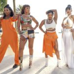 QUEENS - ÒPilotÓ Ð Estranged and out of touch, four women in their 40s reunite for a chance to recapture their fame and regain the swagger they had as the Nasty BitchesÑtheir Ô90s group that made them legends in the hip-hop world. (ABC/Kimberly Simms) BRANDY, EVE, NATURI NAUGHTON, NADINE VELAZQUEZ