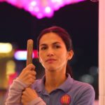 THE CLEANING LADY: Elodie Yung in the new FOX Drama THE CLEANING LADY premiering Midseason on FOX.  ©2021 FOX MEDIA LLC. Cr. Cr: Ursula Coyote/FOX